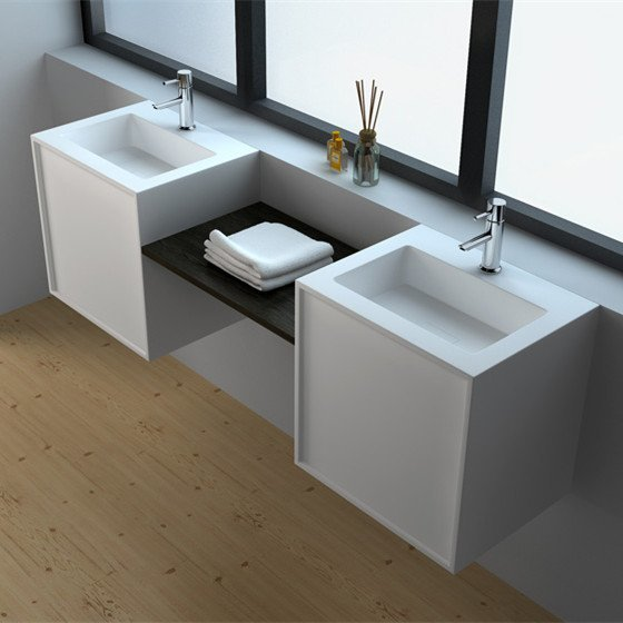 Solid Surface Kitchen Cabinet: Solid Surface Seamless Cabinet