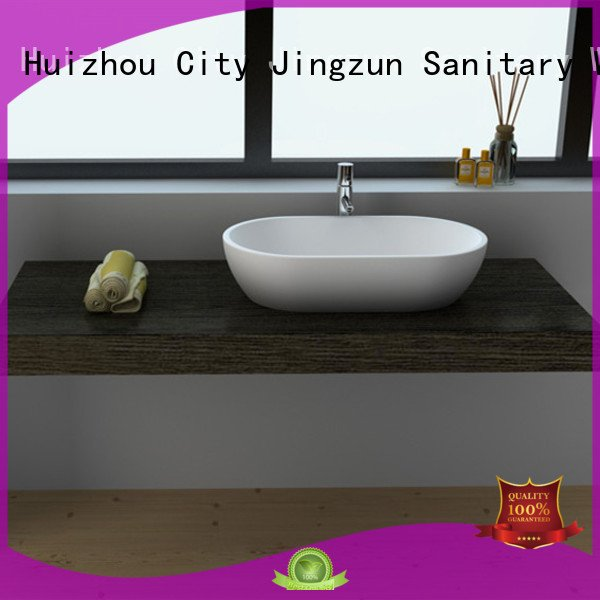 Solid Surface Countertop Options Bathroom Jz9039 Wash Jz9018 JINZUN
